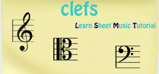 clefs ocarina sheet music tutorial