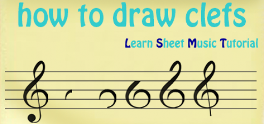how to draw clefs thumb